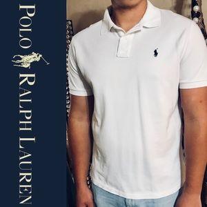 Men's POLO White Collar